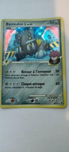 Pokemon card bastiodon 2//111 platinum holo riveaux rivals FR new