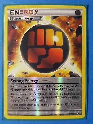 1x Strong Energy Uncommon Lightly Played Pokemon XY 115//124 Fates Collide