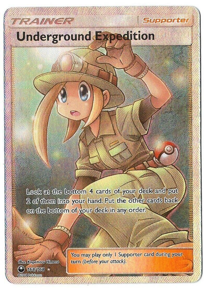 150//168 Pokemon Card Underground Expedition Celestial Storm Trainer