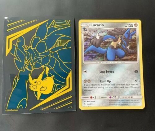 Lucario 126/214 Holo SM Unbroken Bonds Pokemon Card - Mint