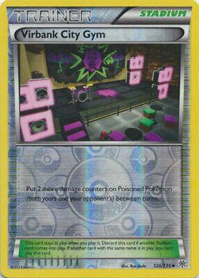 Uncommon PL B/&W Plasma Storm Pokemon Virbank City Gym 126//135