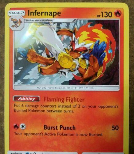 Pokemon - Infernape 23/156 - Ultra Prism - Rare - Holo - EXCELLENT - Image 2