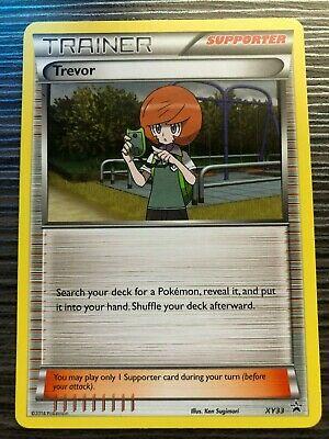 Trevor XY33 Black Star Promo Pokemon Card C625