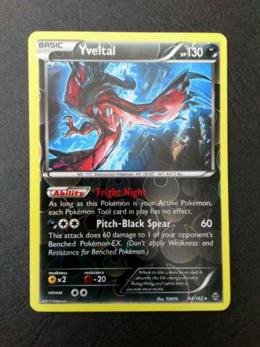 XY BREAKthrough Rare PLAYSET 4x YVELTAL 94//162 HOLO Rare Pokemon TCG