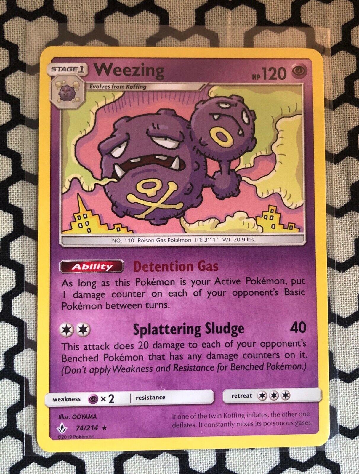 Unbroken Bonds Common NM-Mint Pokemon SM10 73//214 4x Koffing