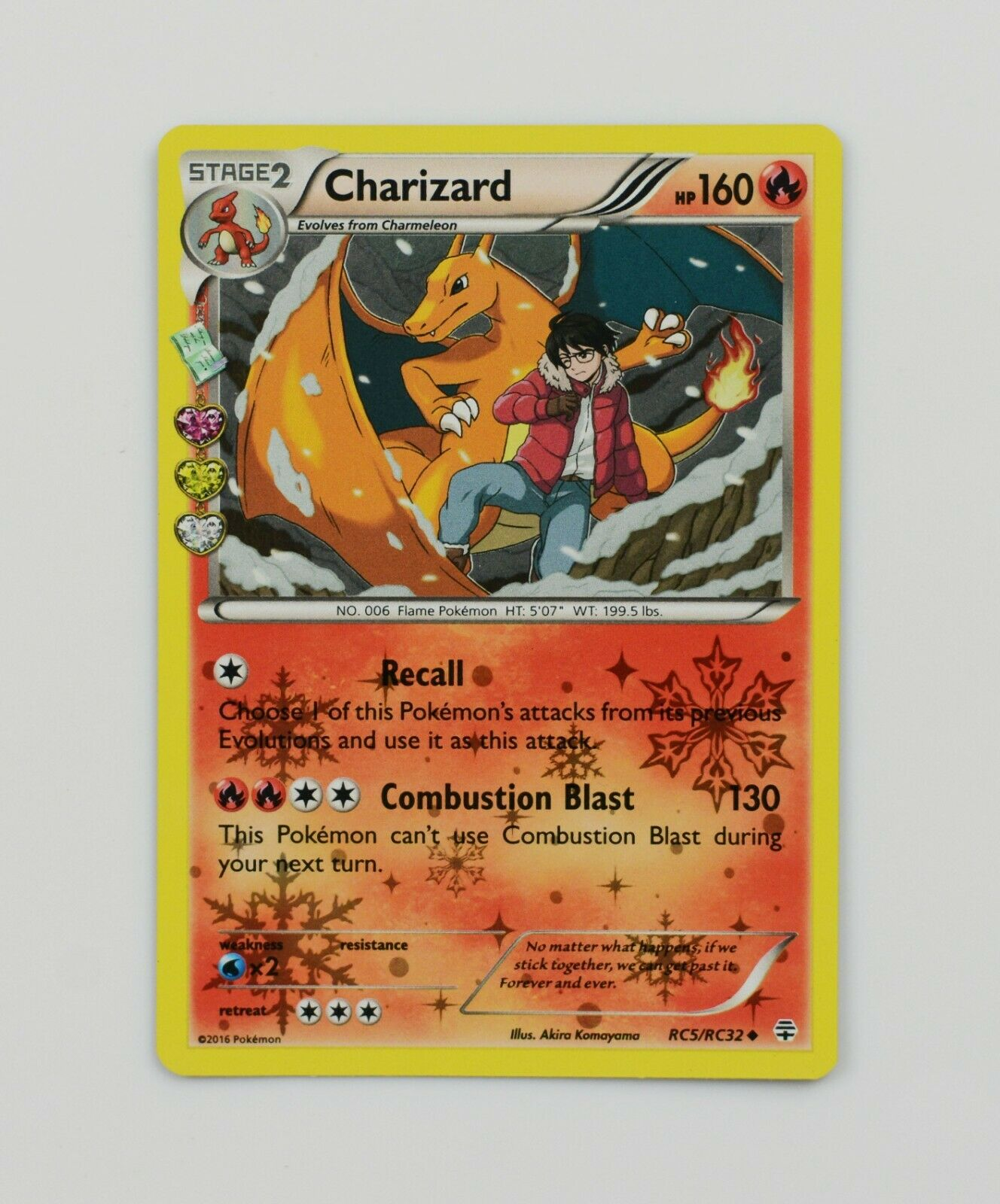 Uncommon Charizard RC5//RC32