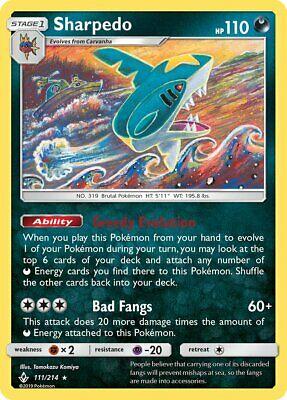 Sharpedo 111/214 - MINT/NM - UNBROKEN BONDS - Pokemon TCG