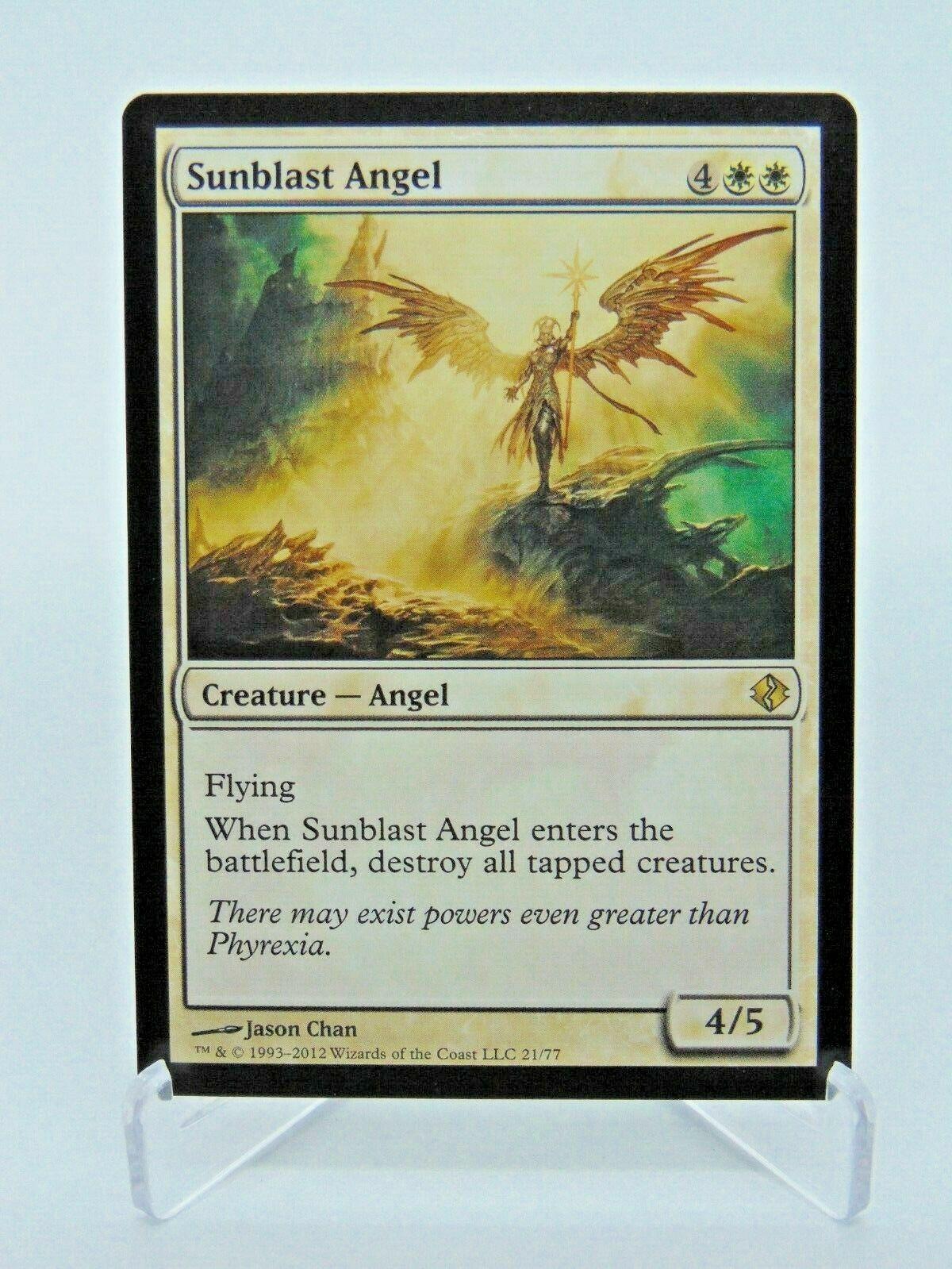 R MTG Magic - Scars of Mirrodin SP Sunblast Angel