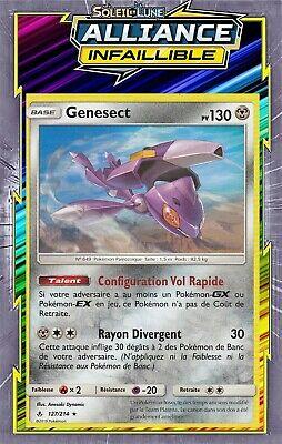 Genesect - SL10:Alliance Infaillible - 127/214 - Carte Pokemon Neuve Française