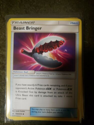 4x Pokemon SM Unbroken Bonds Beast Bringer 164/214 ENGLISH NM/MINT