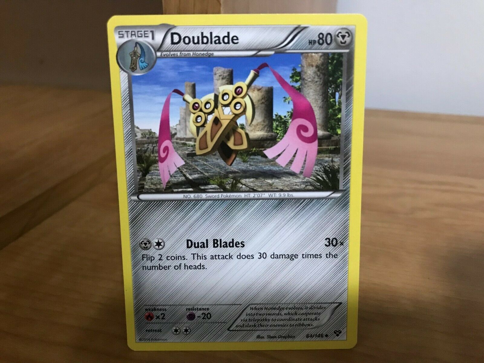 x4 Doublade Uncommon Pokemon XY Base Set M//NM English 84//146