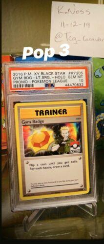 Arenaorden Gym Badge EN NM Pokemon XY205 XY-Promo