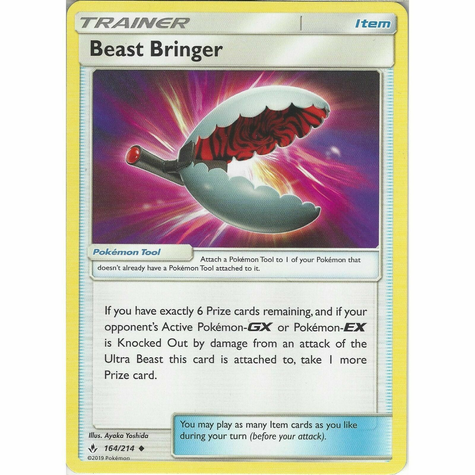Beast Bringer 164/214 Trainer Card Playset (x4 Cards) Pokemon SM Unbroken Bonds