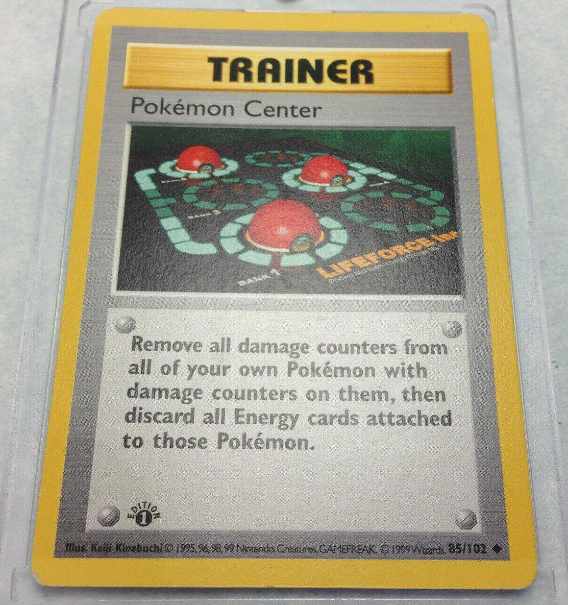 Base Set Uncommon 85//102 POKEMON CENTER NM Pokemon Card Unlimited
