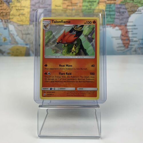 SHIPS SAME DAY Pokemon Card TCG Talonflame 32/236 Stage 2 Fire Type 2019