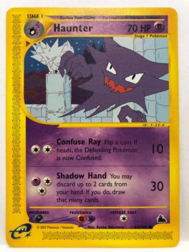 Haunter Common NM Skyridge Pokemon 63//144