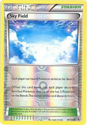 4X NM-Mint 89//108 Uncommon XY Roaring Skies Sky Field