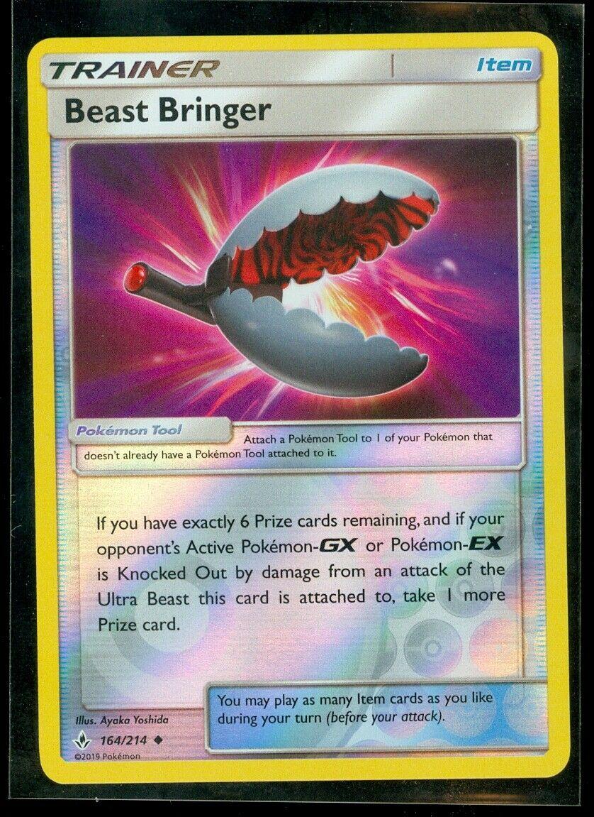 Pokemon BEAST BRINGER 164/214 Unbroken Bonds - Rev Holo - MINT