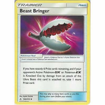 Beast Bringer 164/214 Uncommon - Trainer Card - Pokemon TCG Unbroken Bonds Cards