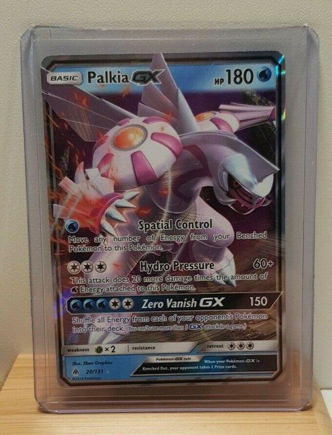 Palkia GX 20//131 SM Forbidden Light Set HOLO Rare Pokemon Card NEAR MINT