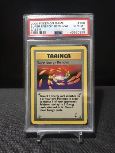 Base Set 2 108//130 gw Super Energy Removal Rare Pokemon Card