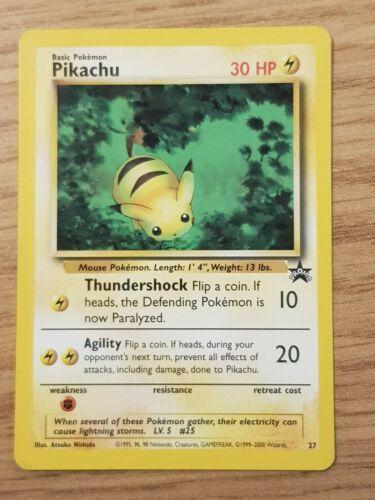 Pokemon TCG BABY PIKACHU 2000 World Collection Promo #27 PSA 10 Gem Mint