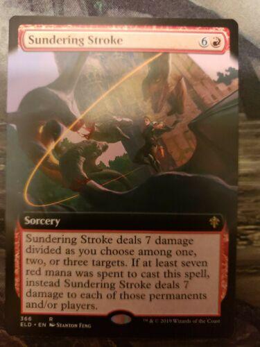 Sundering Stroke 366//269 Extended Art Borderless Foil Promo Near Mint
