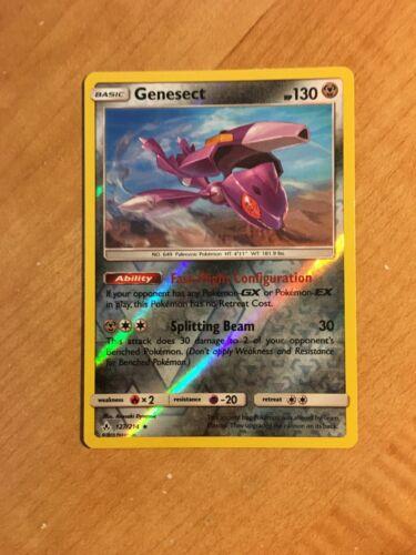 Genesect 127/214 SM Unbroken Bonds REVERSE HOLO Pokemon Card NEAR MINT