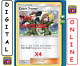 4x Coach Trainer 192/236 Unified Minds Pokemon TCG Online Digital