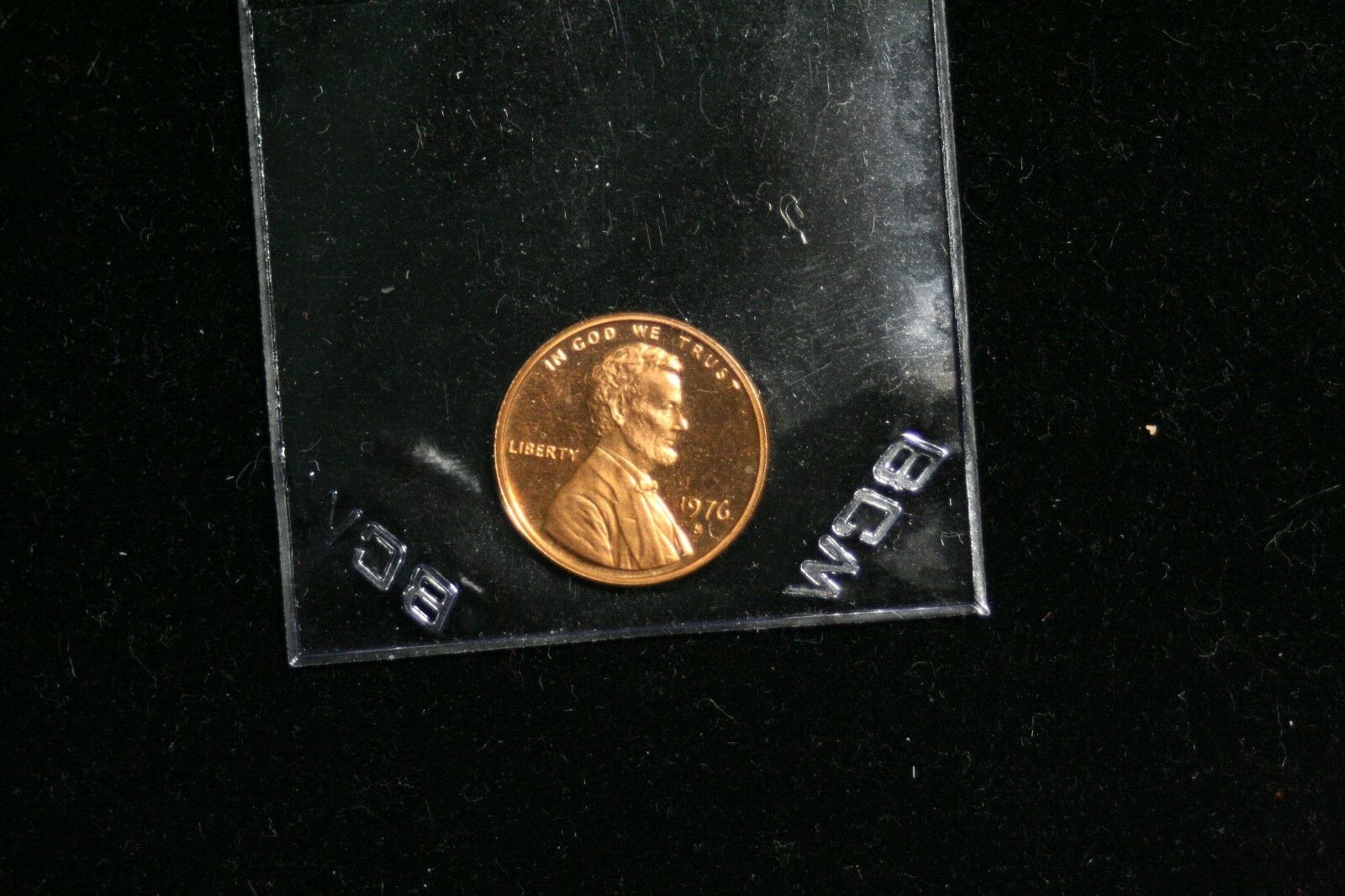 """1976 S PROOF LINCOLN MEMORIAL CENT PENNY """"Free Shipping"""" - Image 1"""