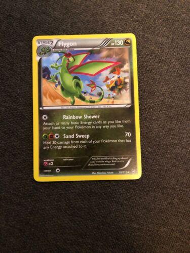 4X Pokemon Furious Fists Flygon 76//111 Rare Card