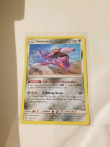 Genesect, Rare, Unbroken Bonds 127/214, Pokemon Card