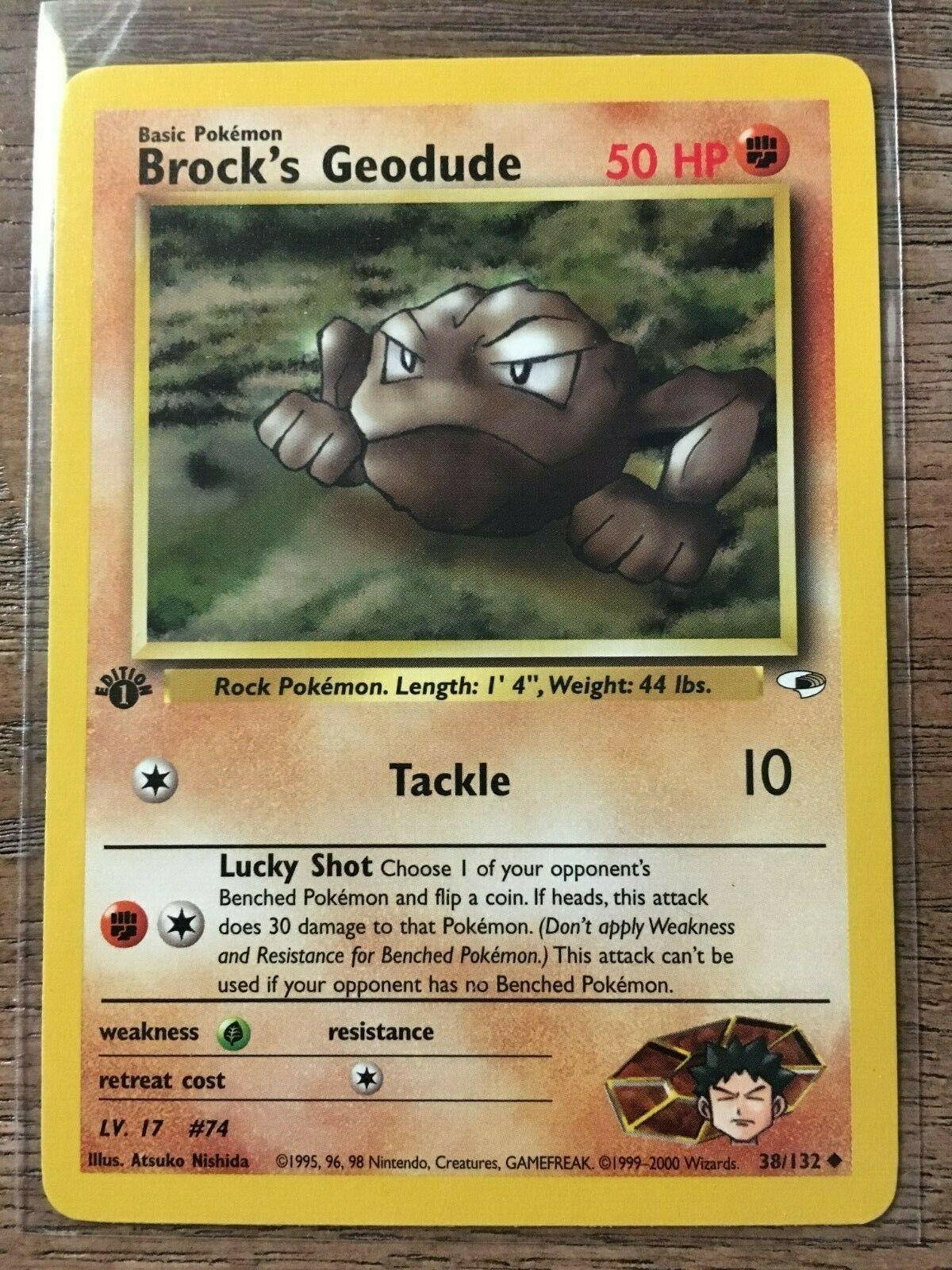 Brock/'s Geodude 38//132 NM