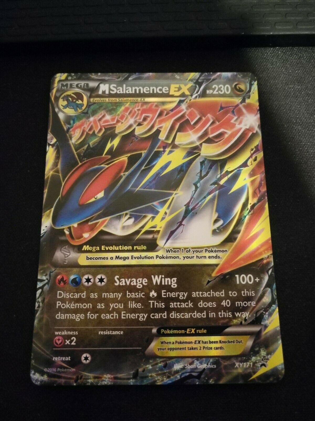 M Salamence EX XY Black Star Promo Pokemon XY171