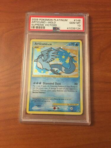 Pokemon Supreme Victors Articuno 148//147 Secret Rare Holo Pokemon Card EX//NM