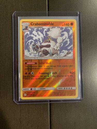4x SM12-122 Crabominable Rare Pokemon Cosmic Eclipse Card # 122