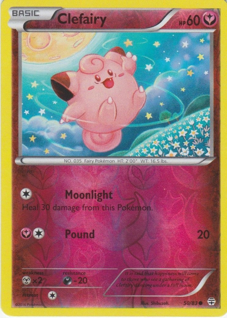 Pokemon Clefairy TCG Holo Card Toys R Us exclusive Sealed