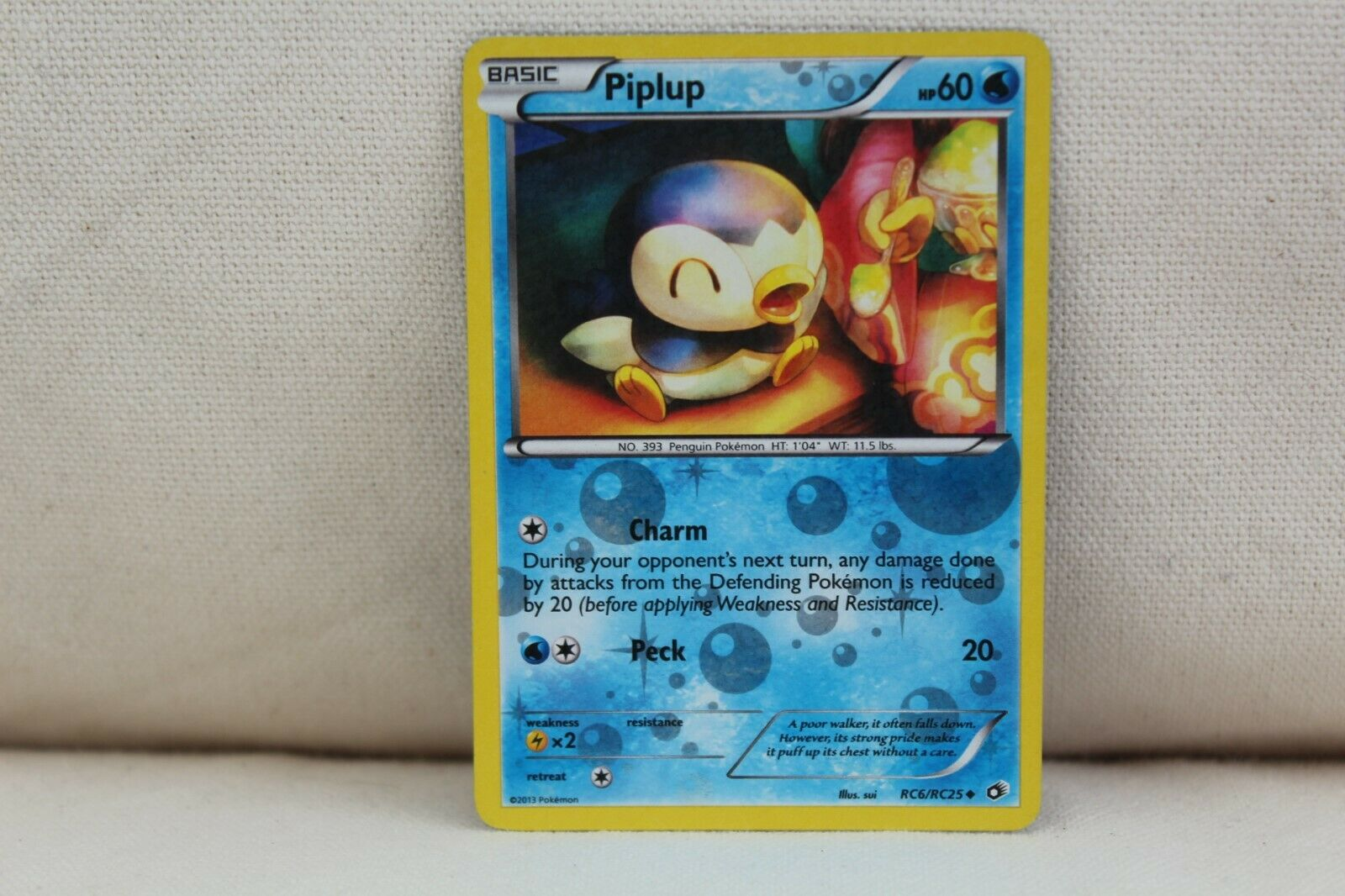 Pokemon Karte Piplup RC6//RC25 Radiant Collection NMPlinfa EN