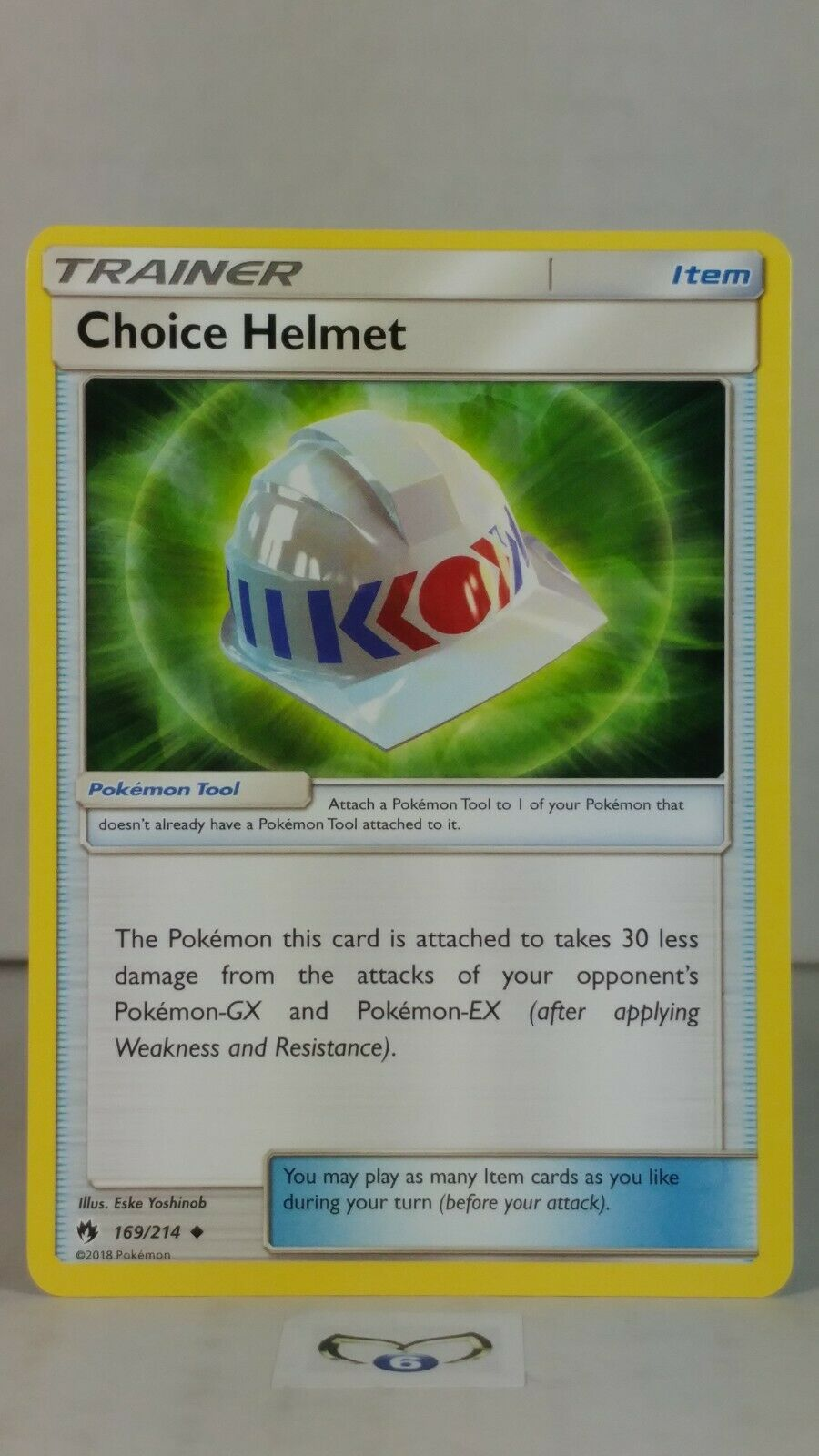 SM8 Lost Thunder Reverse Holo 2x Choice Helmet 169//214 Pokemon NM//M