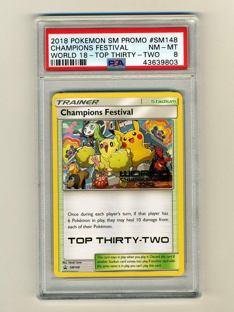 Italian Champions Festival SM148 Near Mint Pokemon World Championship 2018