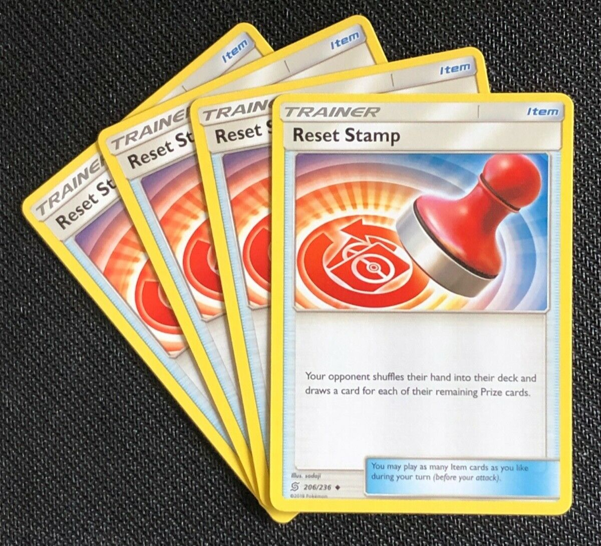 Pokemon Card Rev Holo Reset Stamp 206//236 Inc Free Card Deal