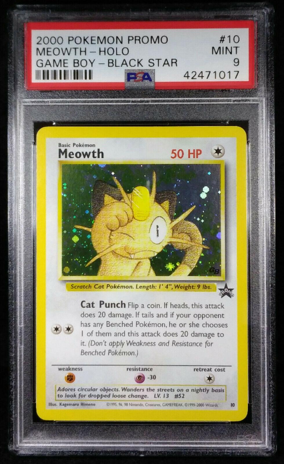 NEAR MINT Team Rocket/'s Meowth 18 Rare
