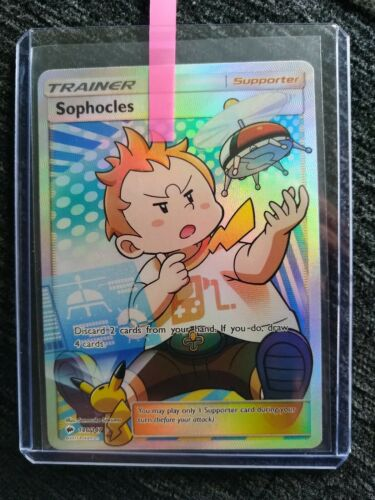 Sophocles 146//147 Burning Shadows Ultra Rare Pokemon Card Near Mint FULL ART
