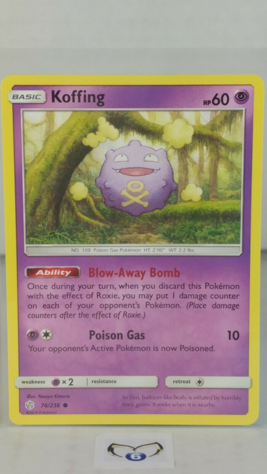 Pokemon Cards 4x Koffing 76//236 Playset Cosmic Eclipse NM//M