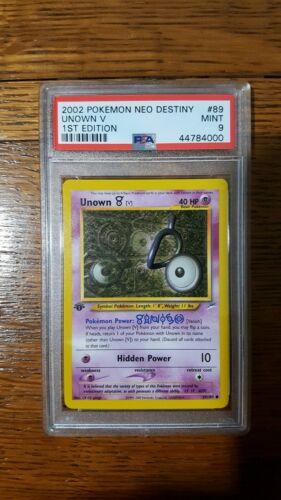 Pokemon Neo Destiny Common Card #89//105 Unown V