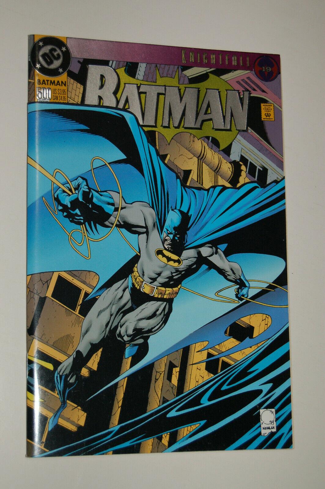 Batman 15 Knightfall 15 Bane w/postcard VF NM Collectible ...