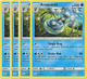 4x	Araquanid	49/236	- RARE -	Araquanid	Pokemon TCG Unified Minds