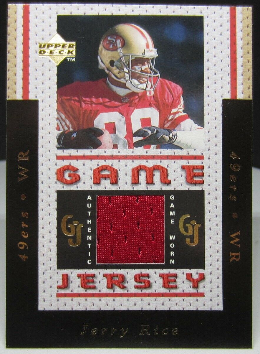 1996 Upper Deck Pro Bowl #PB6 Jerry Rice San Francisco 49ers Football Card