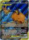Pokemon Raichu & Alolan Raichu GX Full Art Ultra Unified Minds 221/236 NM-MT