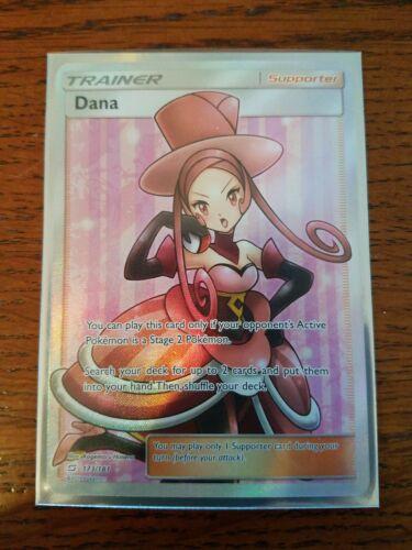 Full Art Dana Pokemon Team Up Card # 173 SM09-173